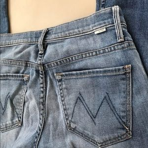 MOTHER Jeans - Mother denim Reina Jeans lightwash distressed 26